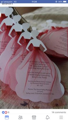 Crafts For Girlfriend, Bridal Shower, Merry, Hair Beauty, Place Card Holders, Invitations, Bride, Food, Couple Shower