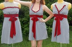 BamaLittle Miss Huddle UpGameday Dress  by TrueColorsCouture, $80.00