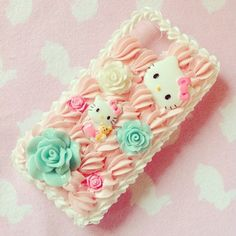 iPhone 4 / 4S  Kawaii Cute Hello Kitty Whipped by sototallylame, $25.00
