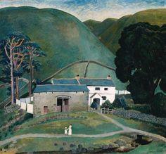 Farm At Watendlath by Dora Carrington-1921