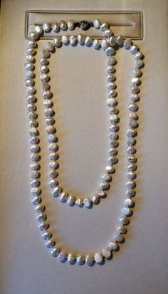 Check out this item in my Etsy shop https://www.etsy.com/listing/210668822/necklace-fresh-water-pearls