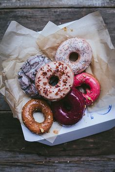 donuts / photo by Eva Kosmas Flores