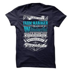 Farm Manager T Shirts, Hoodies. Get it now ==► https://www.sunfrog.com/No-Category/Farm-Manager-64725734-Guys.html?57074 $21.99