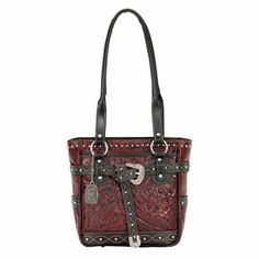 American West Riverbend Collection Zip-Top Tote