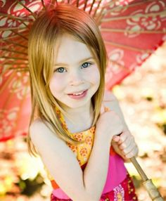 medium straight hairstyles for little girls - Google Search