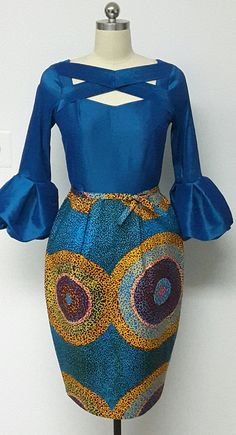 african style clothing You can never have too many African print clothes. This is a roundup of the absolute best African styles right now plus details on where to get them. African Dresses For Women, African Print Dresses, African Attire, African Wear, African Fashion Dresses, African Clothes, African Prints, African Style, African American Fashion