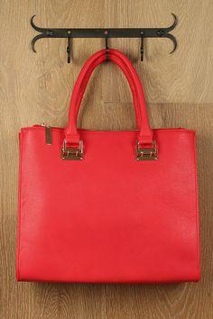 Perfect red tote #bag !