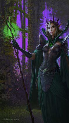 Elven Warlock