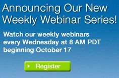 Attend a live 30 minute Weekly Webinar series to see how SLI full-service solutions help customers with site search, navigation and merchandising needs for your website.
