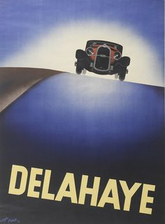 art deco posters and graphics | Delahaye , 1932, Roger Pérot (1908-1976), Les…