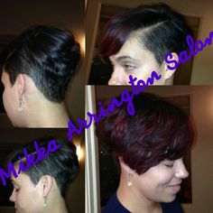 Relaxer, cut and color by Mikka 832-732-9500