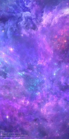 Image uploaded by 𝐆𝐄𝐘𝐀 𝐒𝐇𝐕𝐄𝐂𝐎𝐕𝐀 👣. Find images and videos about fashion, cute and beautiful on We Heart It - the app to get lost in what you love. Purple Galaxy Wallpaper, Galaxy Wallpaper Iphone, Planets Wallpaper, Rainbow Wallpaper, Wallpaper Space, Iphone Background Wallpaper, Glitter Wallpaper, Colorful Wallpaper, Cool Wallpaper