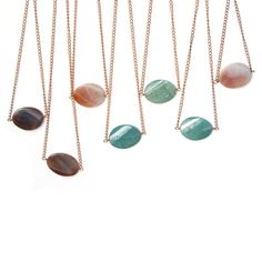 Gemstone necklace  Turquoise and copper necklace by JPwithLove, $21.00