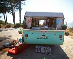 Tea caravan