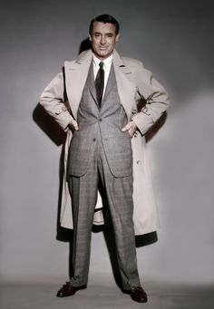 Cary Grant en costume pour Charade