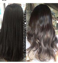 Ash brown hair by bertha