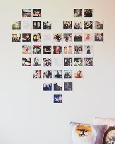 super cute diy polaroid wall art art pinterest d polaroid and wall art. Black Bedroom Furniture Sets. Home Design Ideas