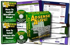 Adsense Alive -   Are you looking for an easy way to make money online? Are you a blogger looking to monetize your existing blogs? Or a website owner thinking of adding a blog to your website? Maybe a member of a charity, church group, school band or club looking for another powerful fund-raising vehicle? Why not follow in the profitable footsteps of thousands of other bloggers who are making money online and add Google Adsense ads to your blogs?
