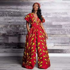 2021 African Women's Digital Print Multi-wear Jumpsuit Casual Flared Wide-legged Pants Trousers - Buy Harem Pants Jaipur Print Trousers,2021 New Fashion Casual Women Trousers,American&european&african&korean&japanese Women Sexy&slim Fit Style Product on Alibaba.com African Print Jumpsuit, African Dress, Red Jumpsuit, Casual Jumpsuit, African Clothing Stores, African Clothes, Style Africain, Ankara Dress, Printed Trousers