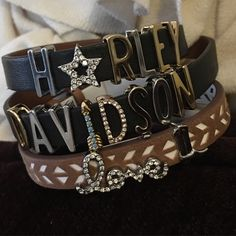Harley Davidson Love! Ride free! Keep Bracelet, Bangles, Bracelets, Picture Design, Harley Davidson, Jewlery, Pictures, Free, Clothes