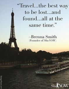 Travel Quotes: My Top Ten That Inspire Wanderlust! Travel the best way to be lost and found at the same time Know some one looking… Oh The Places You'll Go, Places To Travel, Travel Destinations, Time Travel, Travel Qoutes, Such Und Find, I Want To Travel, Adventure Is Out There, Travel Around