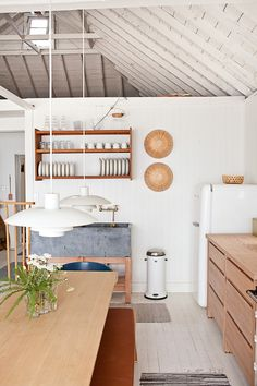 O Canada: Mjölk's Renovated Scandi-Style Cabin on a Lake: Remodelista