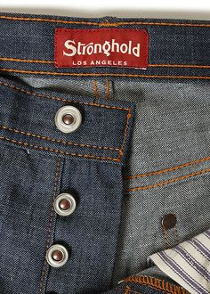 Stronghold Jeans, made in the USA. I have a pair and I look forward to wearing them more this fall.