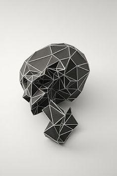 Polygonal Skull