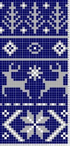 Fair Isle Scarf Pattern for Noel by sally