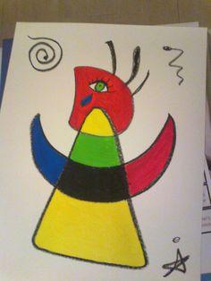 Trabajando como Miró