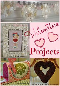 Valentine's Day Crafts - All Things Heart and Home