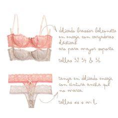 El nude y el flamingo en delicados encajes. #lingerie #beyondBodies