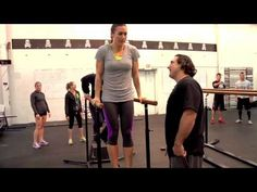 """CrossFit Journal - (http://journal.crossfit.com)    Doug Chapman asks a poignant question: """"How many girls fear Elizabeth because of the freakin' dips in it?""""    Enter the kipping dip.    For Chapman, owner and coach of affiliate CrossFit Ann Arbor/HyperFit USA, the teaching progression begins on the parallel bars.    """"The dip is the squat of the upper ..."""