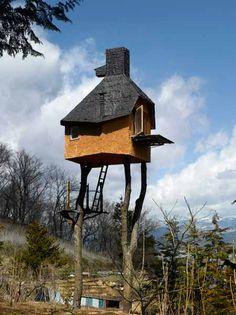 Teniendo en cuenta los locos que viven en mundos de fantasía (y la nuestra), sería un tramo de la imaginación para venir a través de alguien que vive en una casa como és