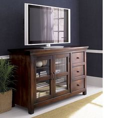 "Kavari 57"" Media-Storage Console in Media Stands & Consoles 