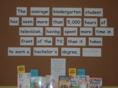 The average kindergarten...