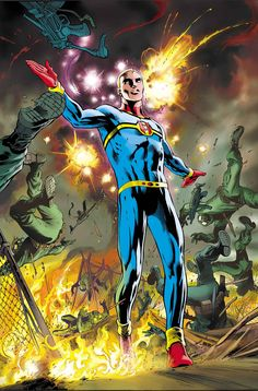 This is the cover for Miracleman (2014 reprint) #4, drawn by Alan Davis.