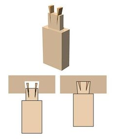 Pin by Felipe Xavier on Marcenaria | Pinterest | Wood Joints, Wedges and Woods