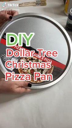 Dollar Store Christmas, Diy Christmas Ornaments, Diy Christmas Gifts, Christmas Projects, Simple Christmas, Christmas Pizza, Christmas Decorations, Homemade Christmas, Christmas Ideas