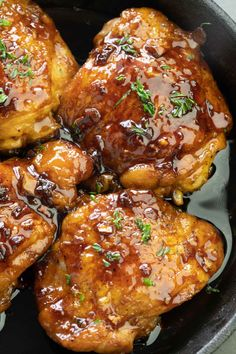 Pan-Roasted Honey Butter Chicken Recipe chicken recipes dinners,cooking and recipes Seared Salmon Recipes, Pan Fried Salmon, Pan Seared Salmon, Roast Chicken Recipes, Healthy Chicken Recipes, Cooking Recipes, Recipe Chicken, Buttered Chicken Recipe, Cooking Blogs