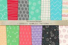 Doodles Seamless Patterns - Patterns