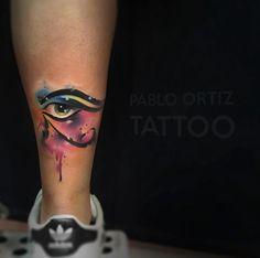 Tattoo Designs Women Just Can't Resist - TattooBlend Best Tattoos For Women, Trendy Tattoos, Sexy Tattoos, Body Art Tattoos, Hand Tattoos, Tattoos For Guys, Cool Tattoos, Egyptian Eye Tattoos, Third Eye Tattoos