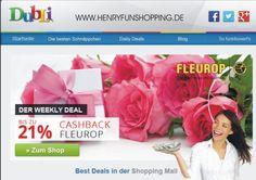 Weekly Deal - Fleurop.de Hier noch ein tolles Angebot von DubLi für den Muttertag. Einfach gratis anmelden und Geld-zurück-bekommen! www.erfolg-macht-sexy.info