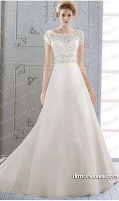 http://www.ikmdresses.com/Crystal-Embroidered-Venice-Lace-Organza-bridal-dresses-Wedding-Gown-p61184