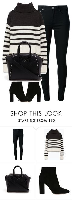 """""""Untitled #3906"""" by london-wanderlust ❤ liked on Polyvore featuring BLK DNM, Zara, Givenchy and Gianvito Rossi"""