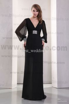 evening gown long sleeve - Google Search