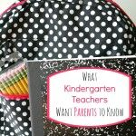 What Kindergarten Teachers Want You to Know for Back to School Letter To Parents, Parents As Teachers, Parent Letters, 1st Day Of School, Pre School, Back To School, Beginning Of Year, Kindergarten Teachers, Fun Learning