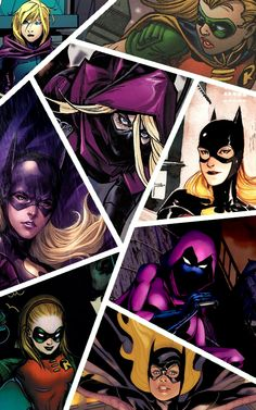 Stephanie Brown spoiler 4th robin/3rd Batgurl. Unless u say the new 52 then no :/