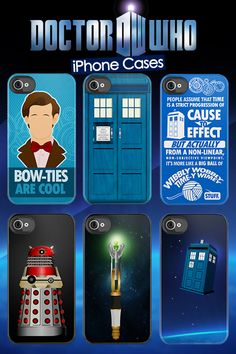 the whole set of Doctor Who iPhone cases. :)