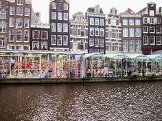 Bloemenmarkt: Floating flower market